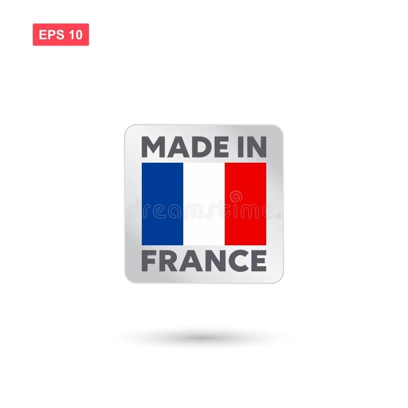 Robić w France wektorze royalty ilustracja