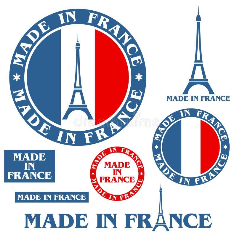 Robić W Francja royalty ilustracja