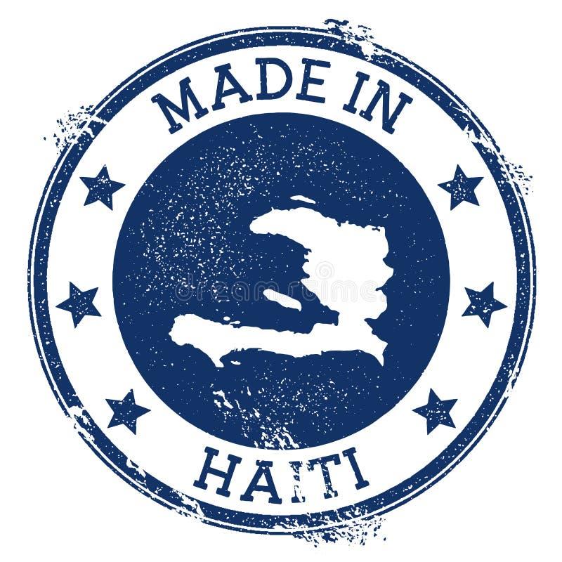 Robić w Haiti znaczku ilustracji