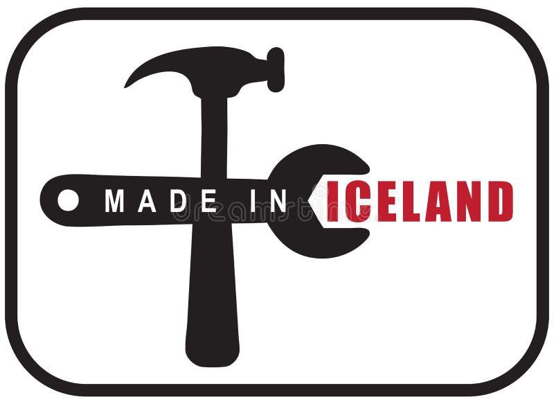 Robić w Iceland ilustracji