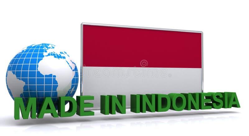 Robić w Indonezja ilustraci royalty ilustracja