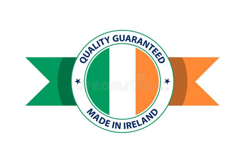 Robić w Irlandia ilości znaczku r?wnie? zwr?ci? corel ilustracji wektora ilustracji
