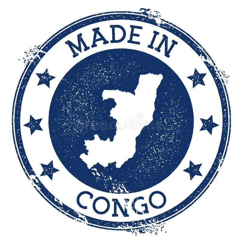 robić w Kongo znaczku ilustracji