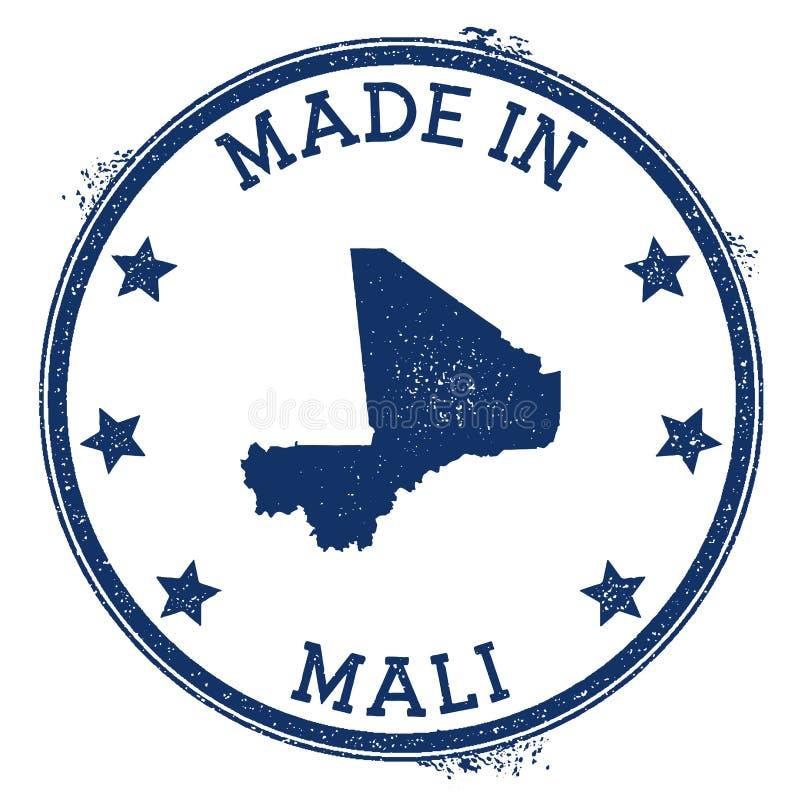 robić w Mali znaczku ilustracja wektor