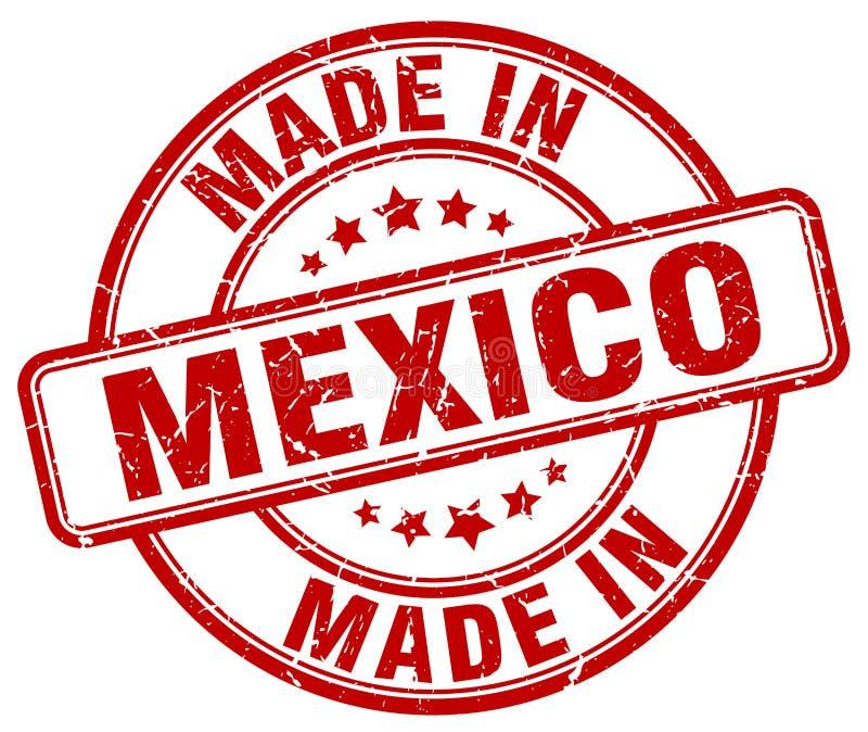 robić w Meksyk znaczku royalty ilustracja