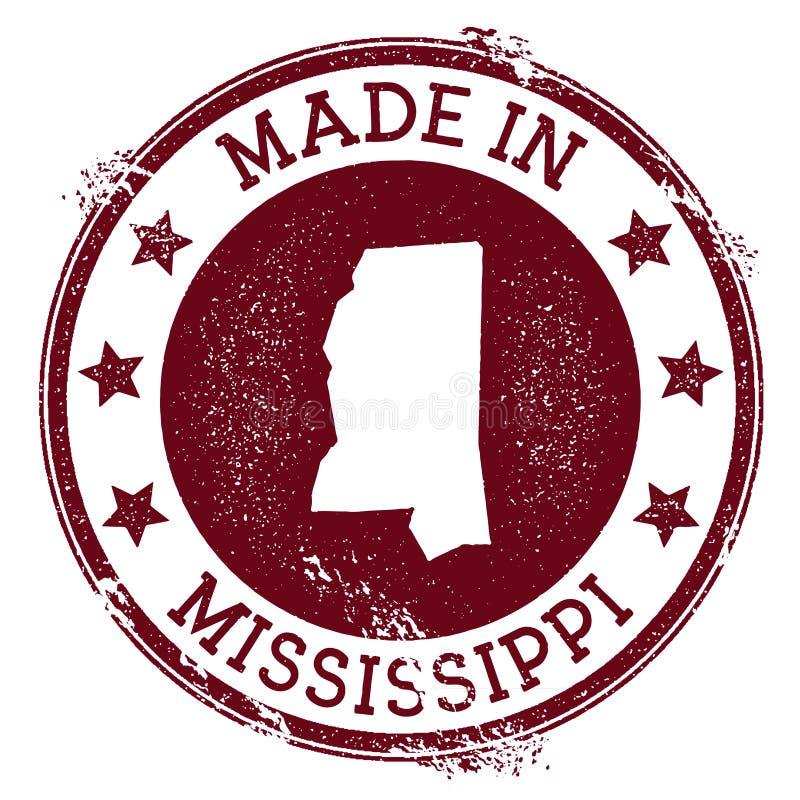Robić w Mississippi znaczku royalty ilustracja