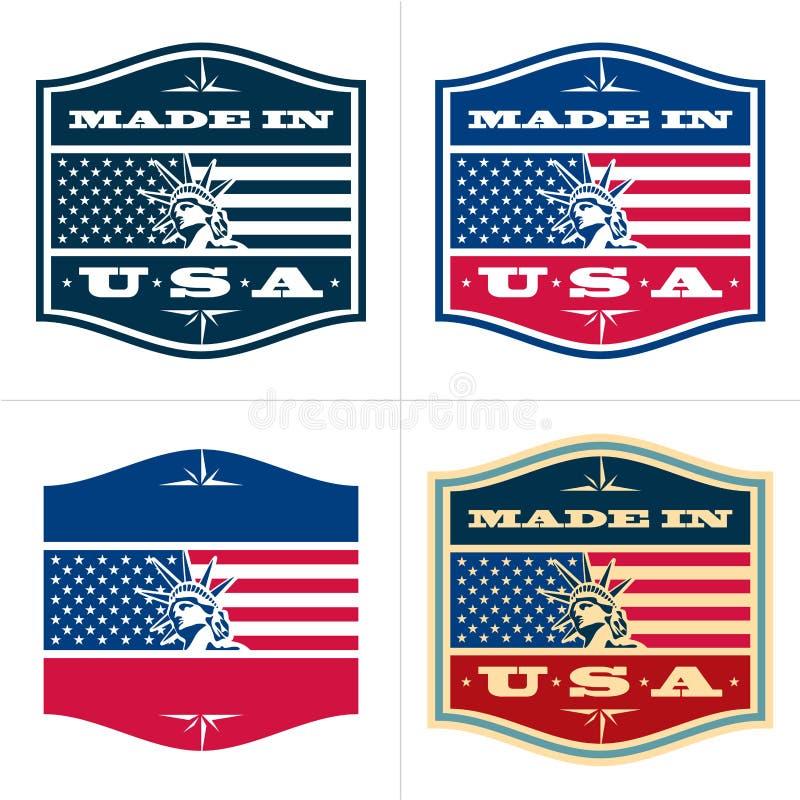 Robić w USA ilustracji