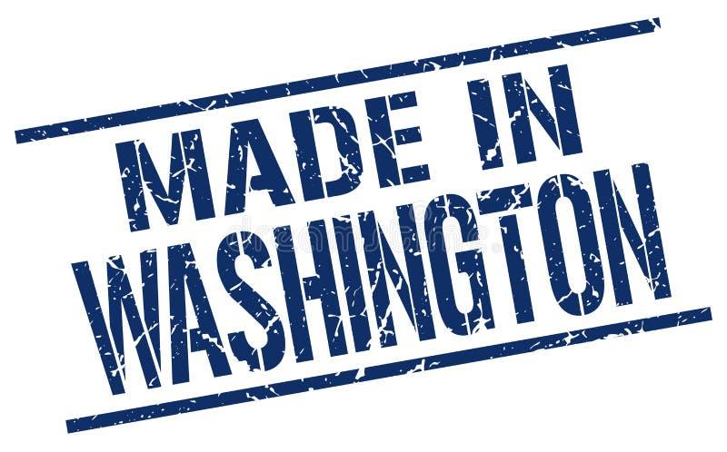 Robić w Waszyngton znaczku ilustracja wektor
