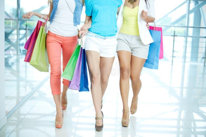 Robić zakupy spacer zdjęcie stock