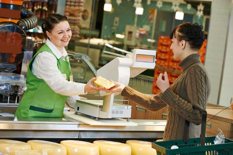 Robić zakupy w supermarkecie zdjęcia stock