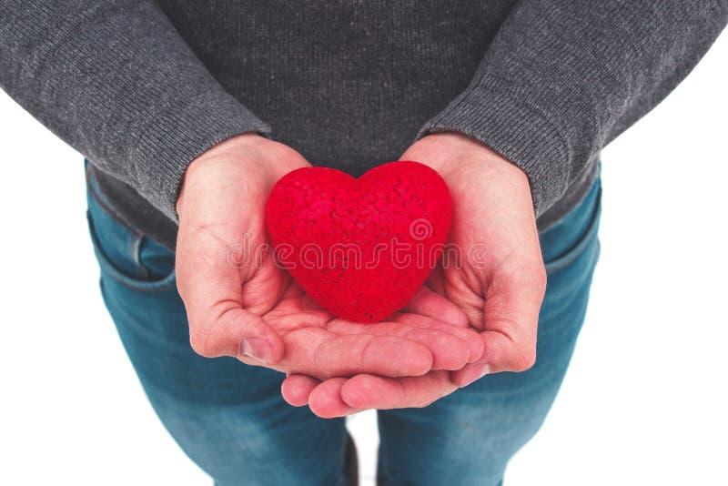 Robi dobrym rzeczom Dawca krew Robić ludzi szczęśliwi dobroczynność ręce mi daje miłości fotografia stock