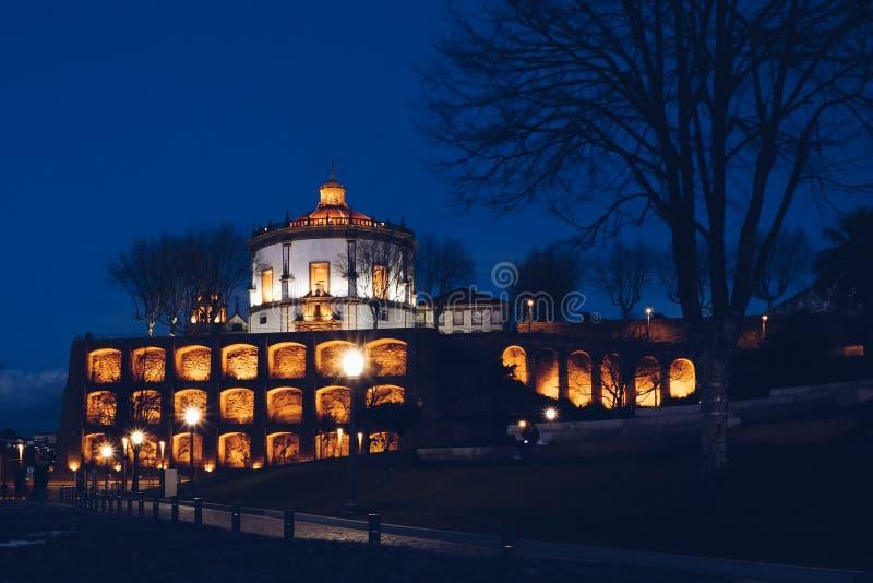 robi monasteru serra Porto serra zdjęcie stock