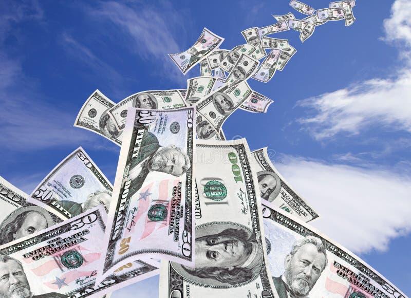 robienie pieniądze obrazy stock