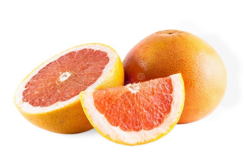 Robijnrode grapefruits stock fotografie