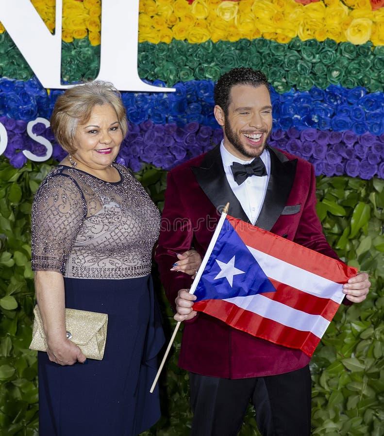 Robin De Jesus bei Tony Awards 2019 lizenzfreie stockfotografie