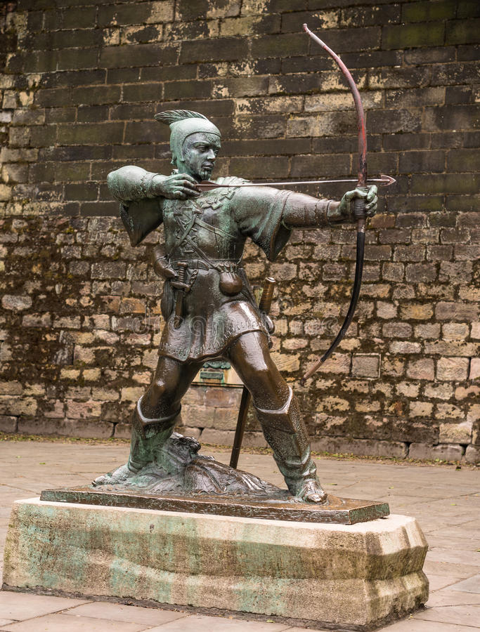 Download Robin Hood of Nottingham stock image. Image of medieval - 32003635