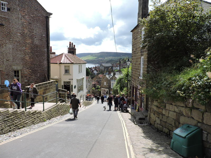 Robin Hoods Bay images stock