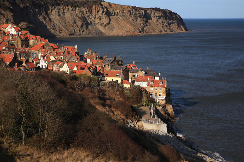 Download Robin Hoods Bay view stock photo. Image of home, robin - 17662012