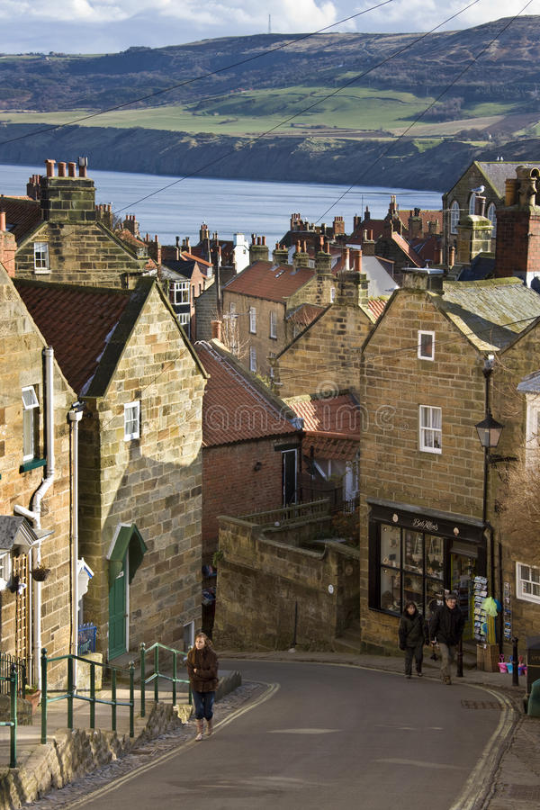 Download Robin Hoods Bay - Yorkshire Coast - England Editorial Photography - Image: 31126832