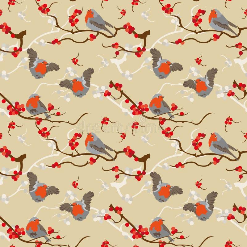 Robin redbreast pattern
