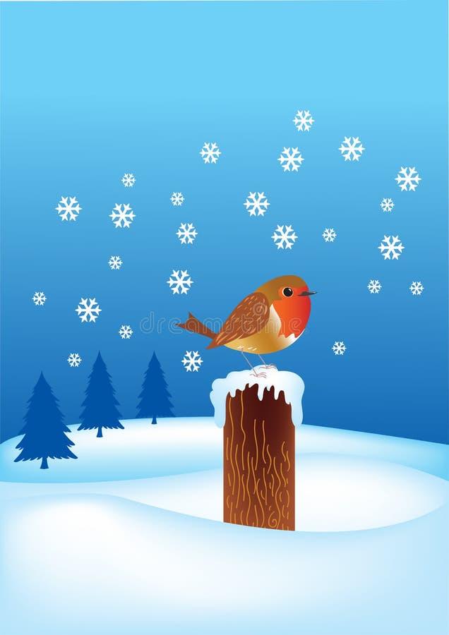 Robin Redbreast stock vector. Illustration of cheerful ...