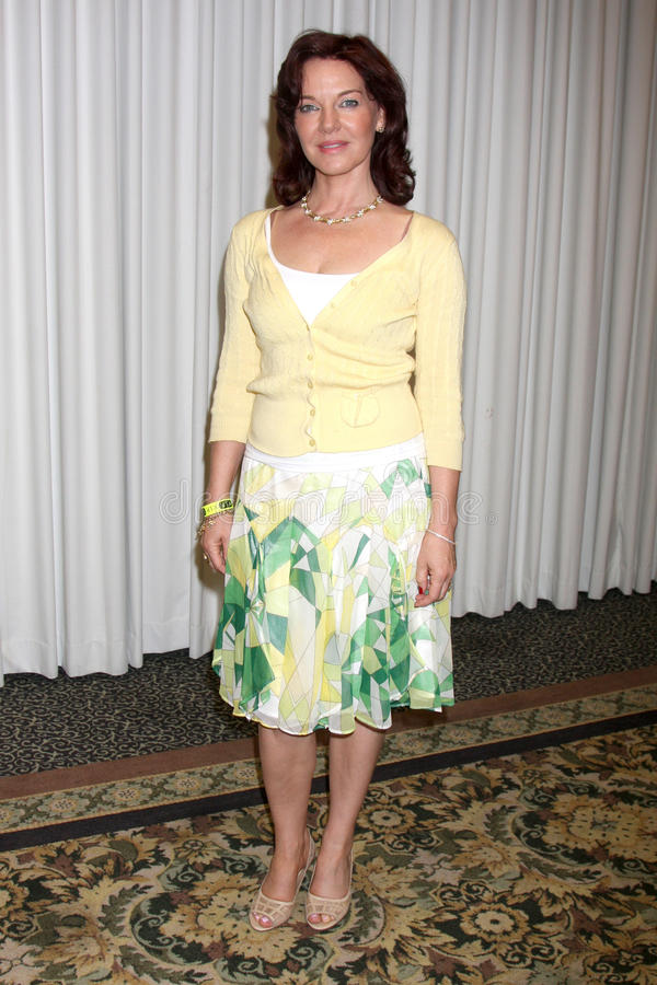 Robin Riker. At The Bold & The Beautiful Fan Club Luncheon at the Sheraton Universal Hotel in Los Angeles, CA on August 29, 2009 royalty free stock photo