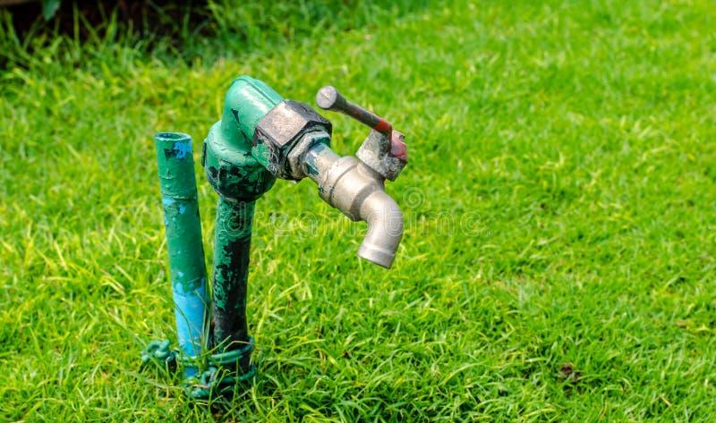 Robinet de jardin image libre de droits