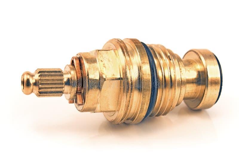 Robinet de pipe de tuyauterie à l'intérieur de mécanisme photos libres de droits