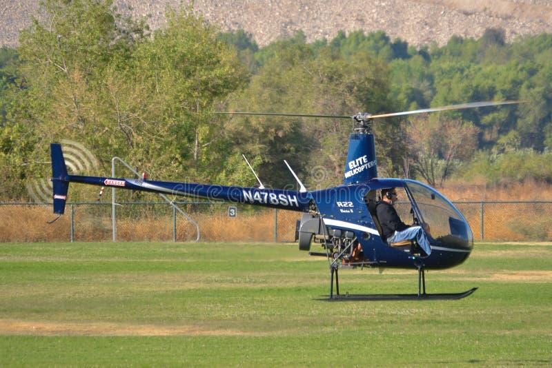 Robinson R22 bety II zdjęcie royalty free