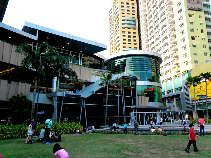 Robinson's Place Magnolia Residences Mall. Photo of Robinson's Place Magnolia Residences Mall in Quezon City, Philippines in Asia royalty free stock image