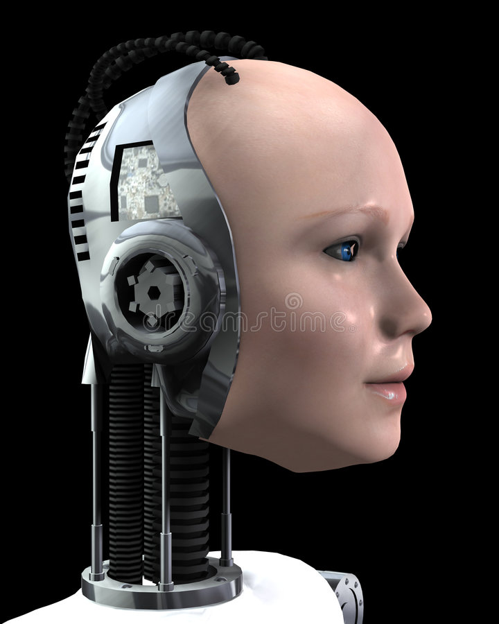 Robo妇女 皇族释放例证