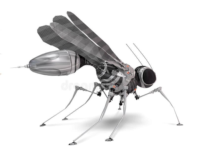 robo κουνουπιών απεικόνιση αποθεμάτων