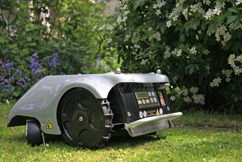 Robomower royalty-vrije stock foto's