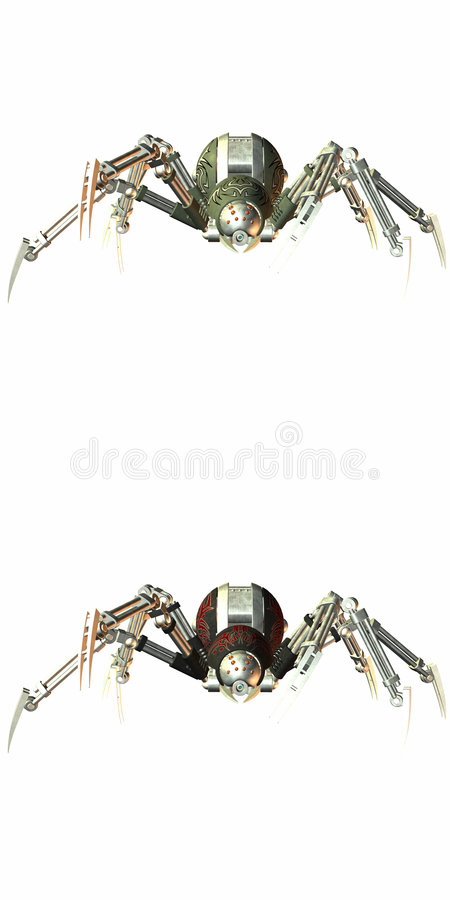 robospider ilustracji