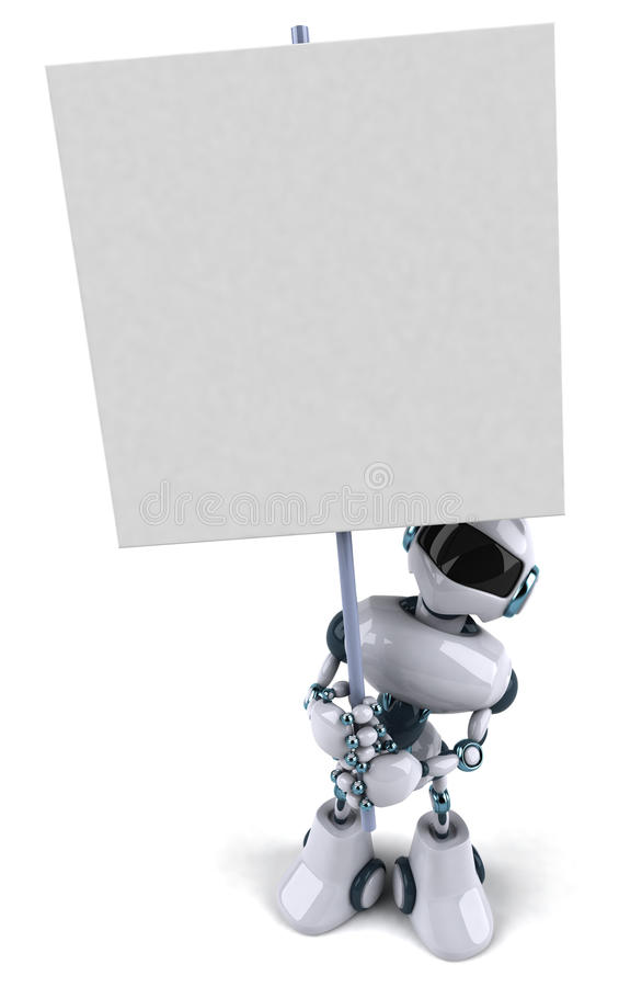 Robot illustration libre de droits
