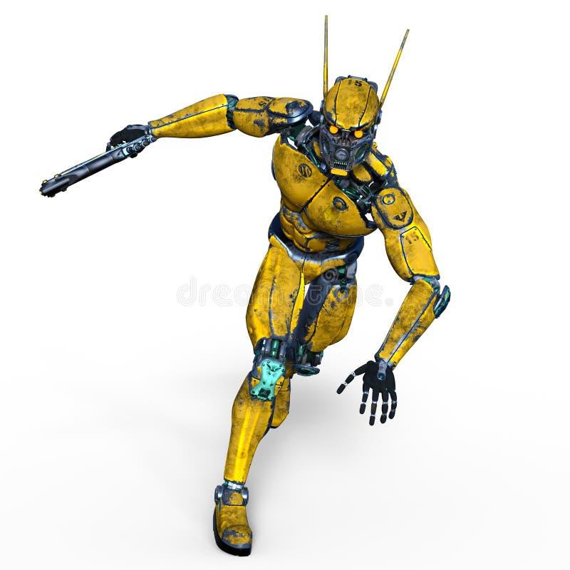 robot illustration de vecteur