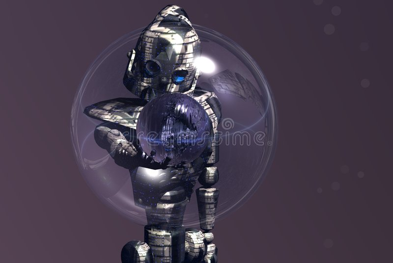 Download Robot stock illustration. Image of bright, water, picture - 1175652