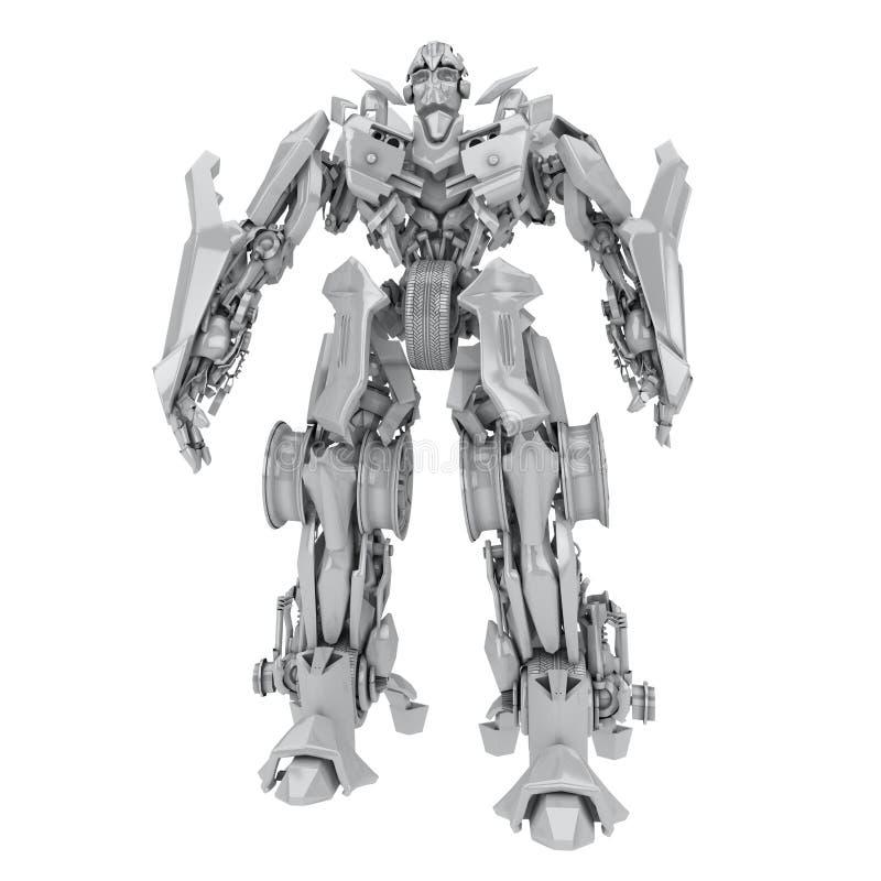 Download Robot ilustracji. Ilustracja złożonej z roboty, kreskówka - 13325960