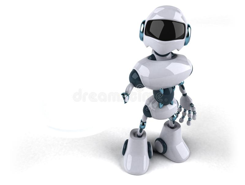 Robot stock illustration