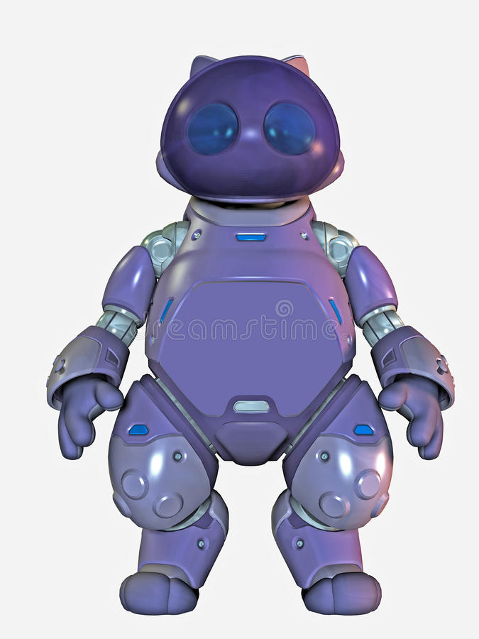 Download Robot stock illustration. Illustration of robot, illustration - 13988918