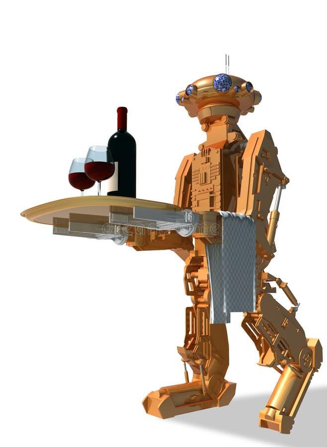 Robot. royalty-vrije illustratie