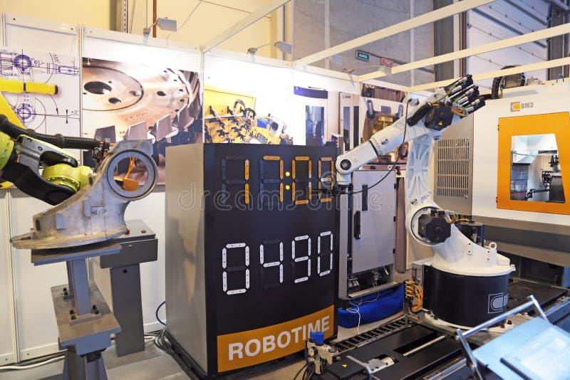 Download Robot editorial stock photo. Image of machine, machinery - 25915738