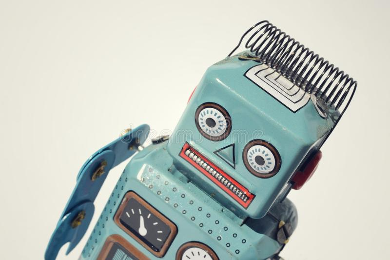 Download Robot stock photo. Image of detail, close, face, up, confusion - 37754300