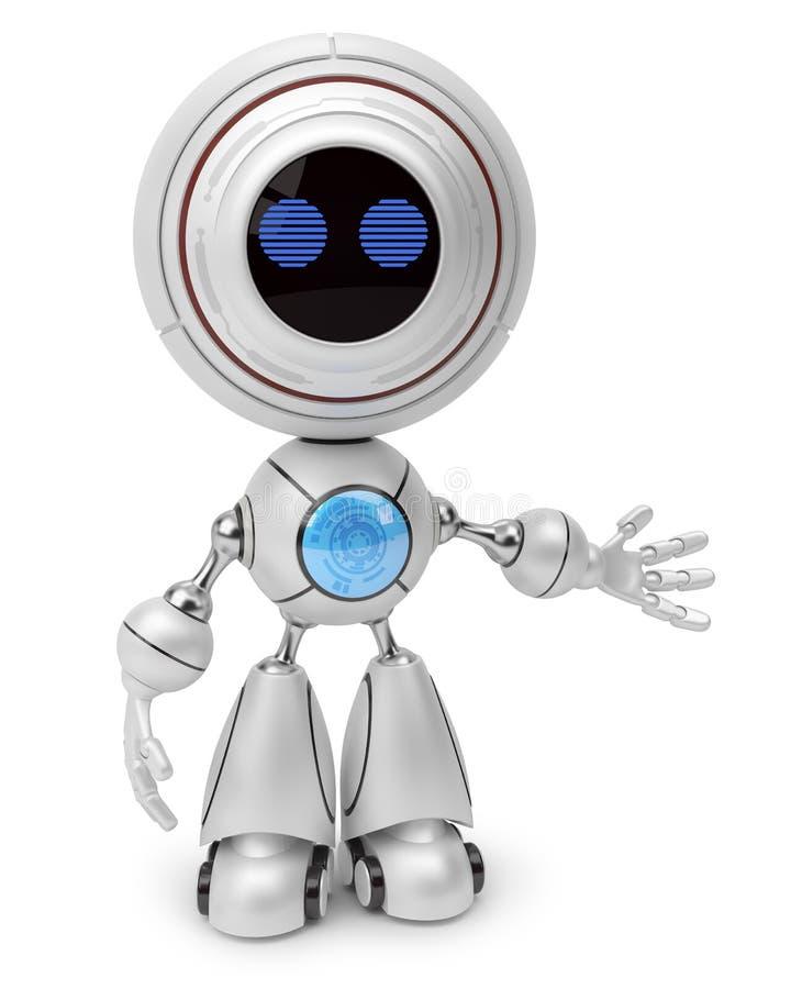 robot royalty-vrije illustratie