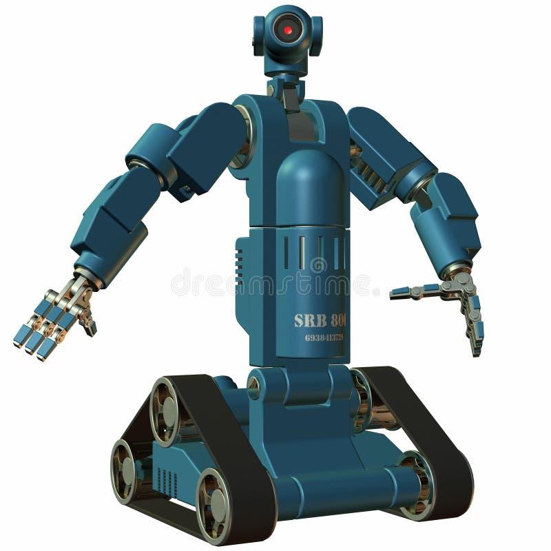robot ilustracji