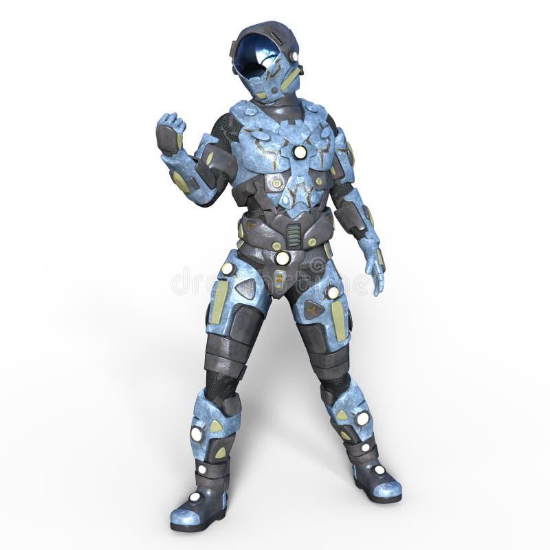 robot illustration libre de droits