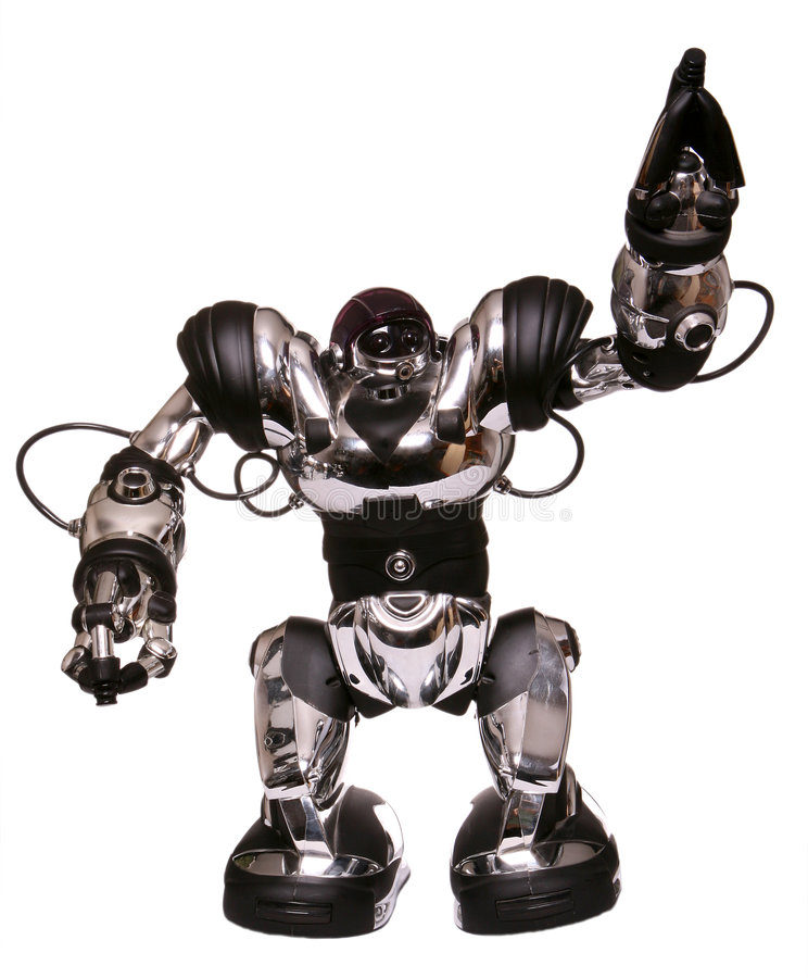 robot obrazy royalty free