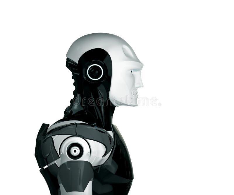 Robot beau illustration libre de droits