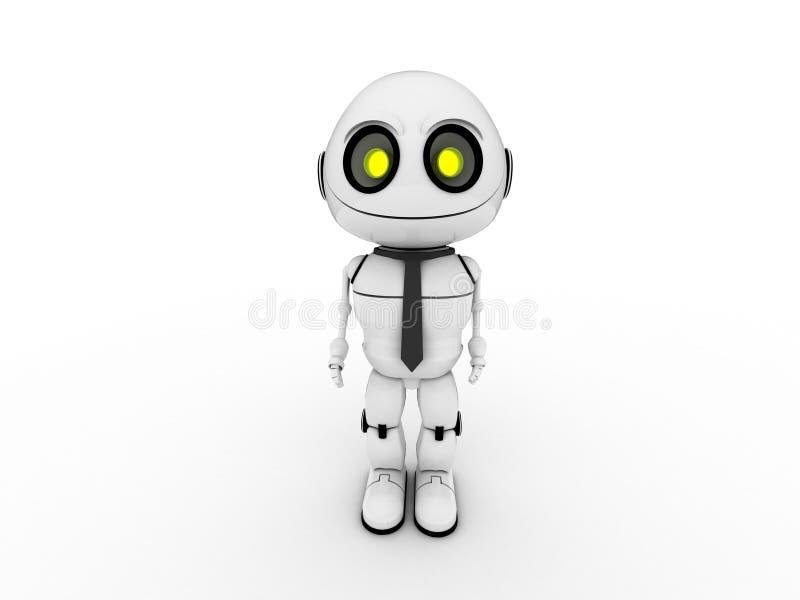 Robot bianco immagine stock