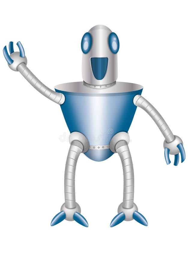 Robot brillant photo libre de droits